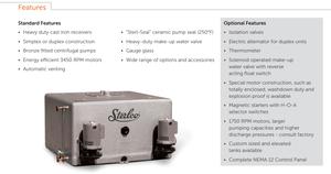 4200 boiler features condensate return pump sterlco